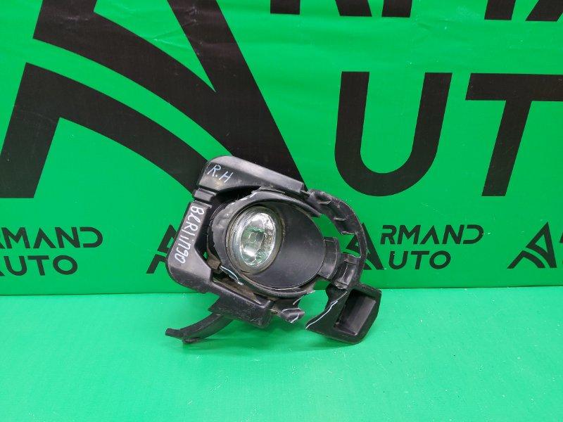 Птф Citroen Berlingo 2 2008 левый (б/у)