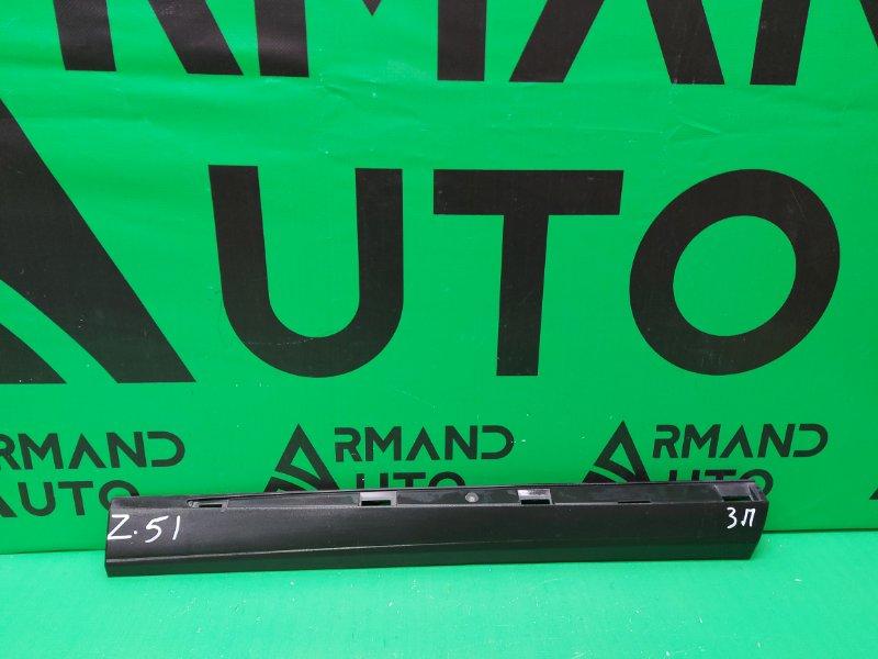 Накладка двери Nissan Murano Z51 2008 задняя правая (б/у)