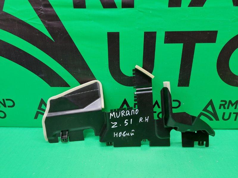 Дефлектор радиатора Nissan Murano Z51 2008 правый (б/у)