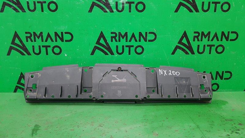 Пыльник бампера Lexus Nx 200 2014 задний (б/у)