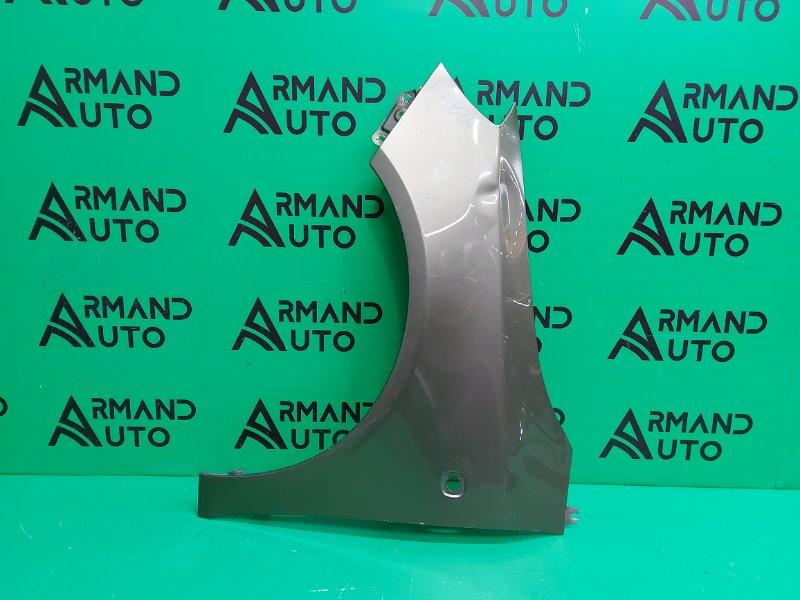Крыло Skoda Fabia 2 2007 переднее левое (б/у)