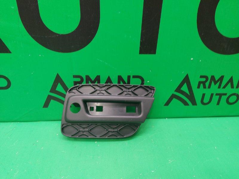 Накладка бампера Renault Sandero 2 2014 задняя левая (б/у)