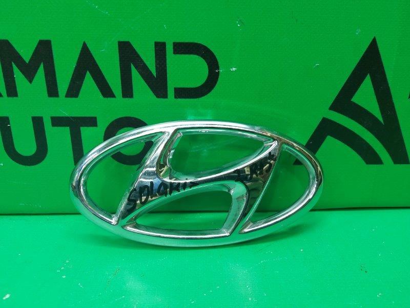 Эмблема Hyundai Solaris 2 РЕСТАЙЛИНГ 2020 (б/у)
