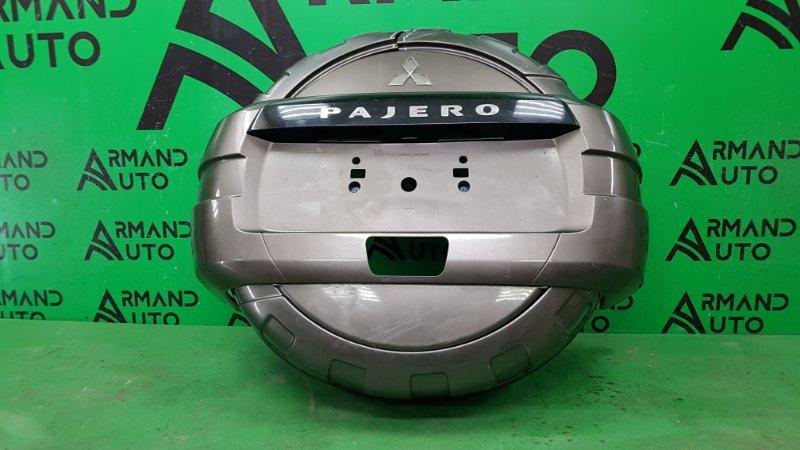 Кожух запасного колеса Mitsubishi Pajero 4 2006 (б/у)
