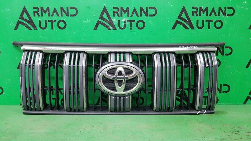 Решетка радиатора Toyota Land Cruiser Prado 150 РЕСТАЙЛИНГ 2 2017 (б/у)