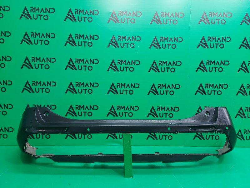 Юбка бампера Toyota Rav4 XA50 2018 задняя (б/у)