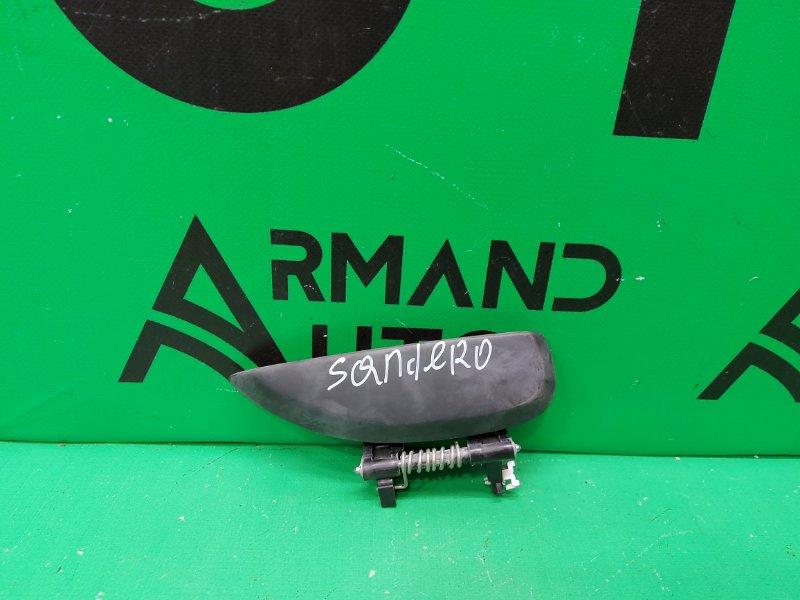 Ручка двери Renault Sandero 2009 задняя правая (б/у)