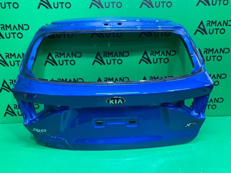 Крышка багажника Kia Rio 4 X-LINE 2017 (б/у)