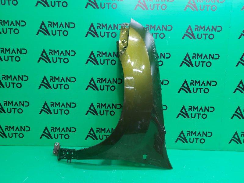 Крыло Renault Duster 1 2010 переднее левое (б/у)