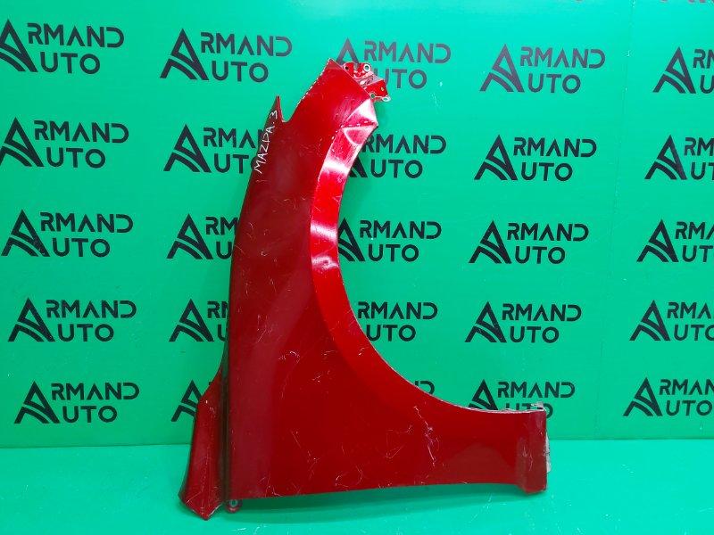 Крыло Mazda 3 BM 2013 переднее правое (б/у)