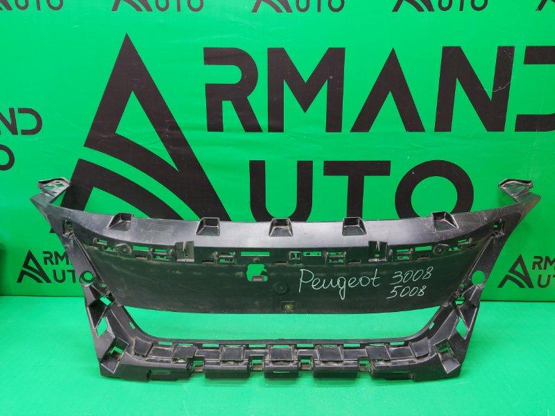 Кронштейн решетки радиатора Peugeot 3008 2 2016 (б/у)