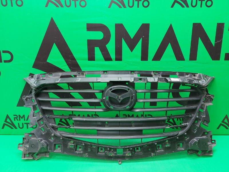 Решетка радиатора Mazda 3 BM РЕСТАЙЛИНГ 2016 (б/у)