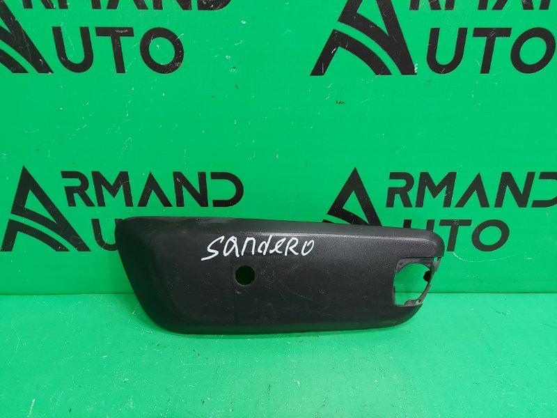 Накладка бампера Renault Sandero 2 2014 передняя правая (б/у)