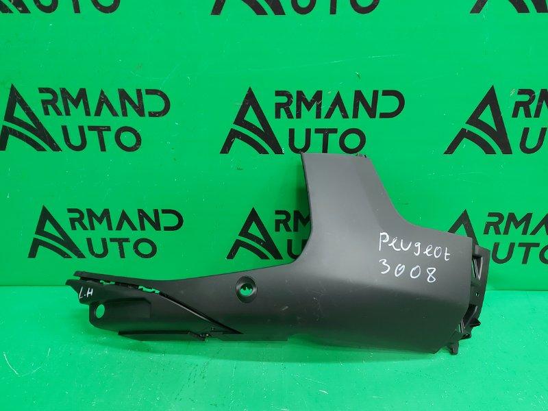 Накладка бампера Peugeot 3008 2 2016 передняя левая (б/у)