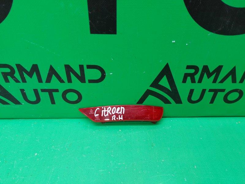 Катафот Citroen C4 2 2010 правый (б/у)