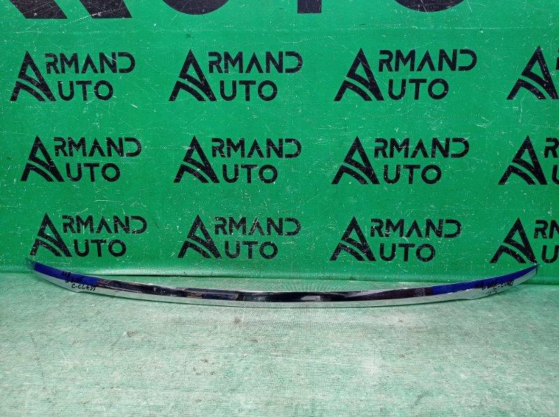 Накладка крышки багажника Mercedes C W205 2014 (б/у)