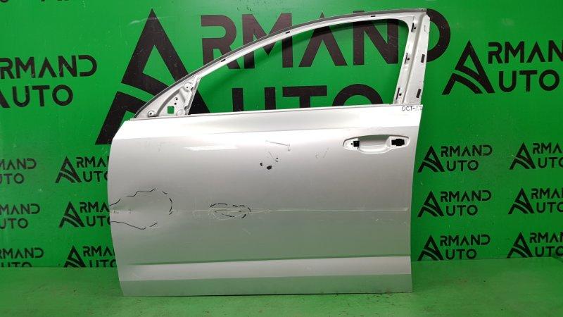 Дверь Skoda Octavia A7 2013 передняя левая (б/у)