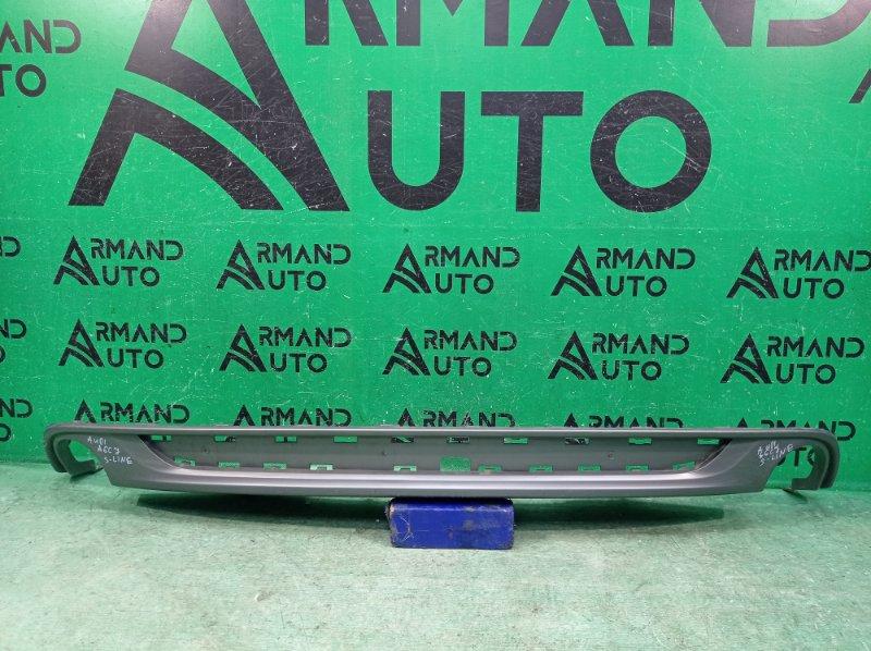 Юбка бампера s-line Audi A6 C7 2011 задняя (б/у)