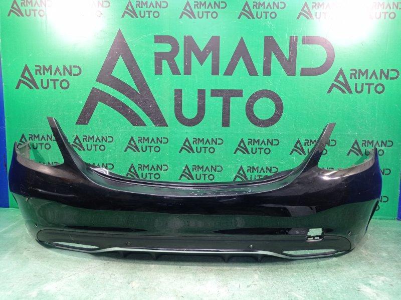 Бампер amg Mercedes C W205 2014 задний (б/у)