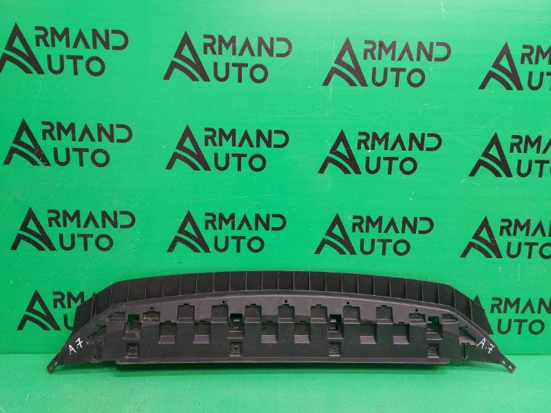 Пыльник бампера Skoda Octavia A7 2013 передний (б/у)