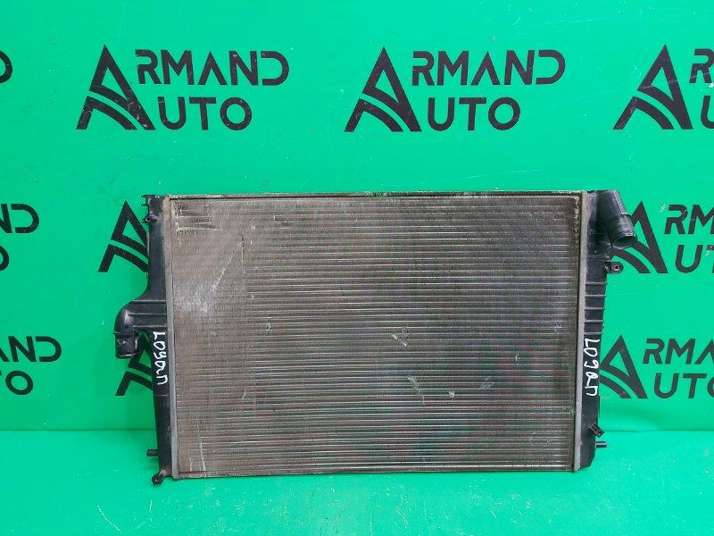 Радиатор охлаждения Renault Duster РЕСТАЙЛИНГ 2015 (б/у)