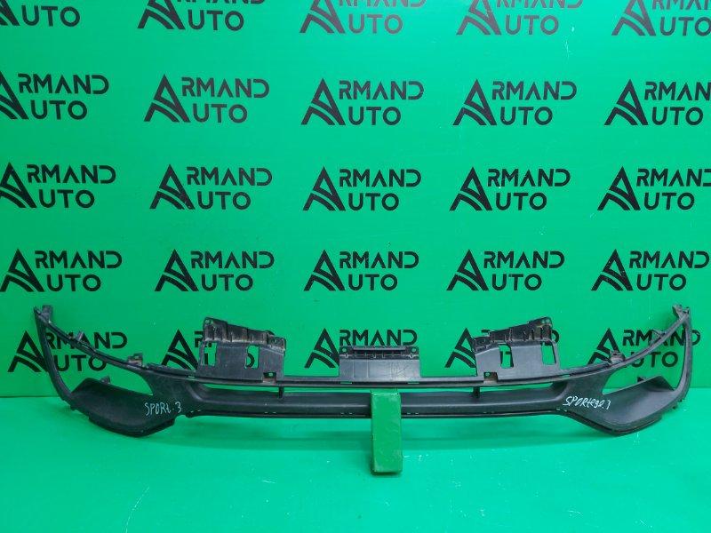 Решетка бампера Kia Sportage 3 2010 передняя (б/у)