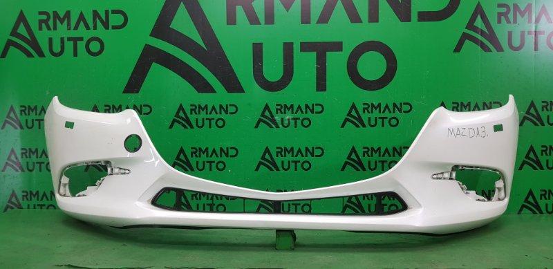 Бампер Mazda 3 BM РЕСТАЙЛИНГ 2016 передний (б/у)