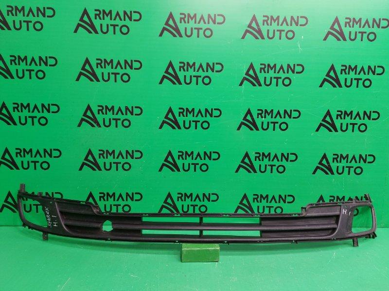 Решетка бампера Hyundai Grand Starex 1 2007 (б/у)