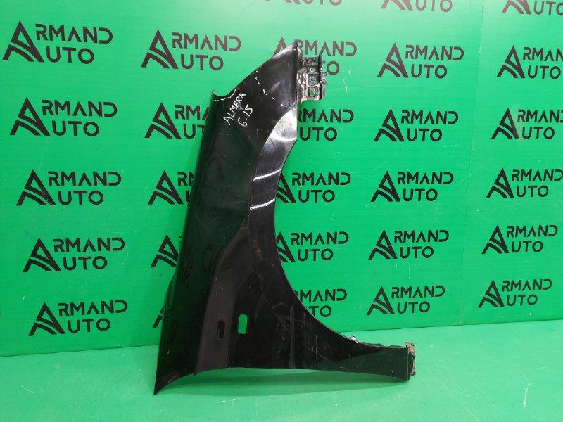Крыло Nissan Almera G15 2013 переднее правое (б/у)