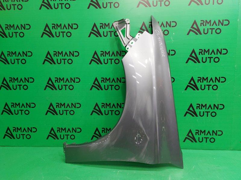 Крыло Mitsubishi Outlander 3 2012 переднее левое (б/у)