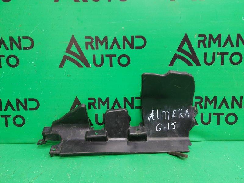 Воздуховод Nissan Almera ALMERA 2013 левый (б/у)