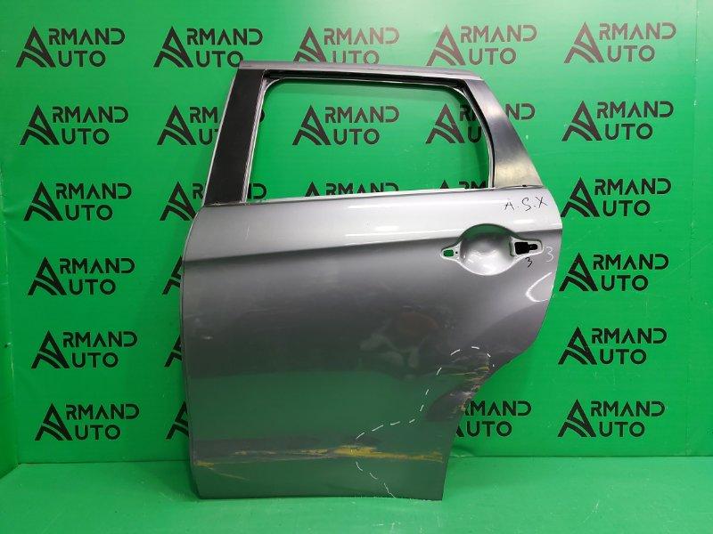 Дверь Mitsubishi Asx 1 2010 задняя левая (б/у)