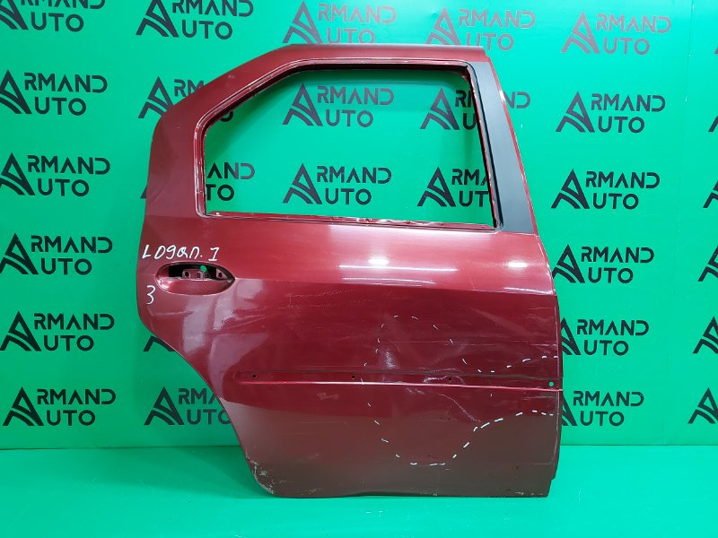 Дверь Renault Logan 1 2004 задняя правая (б/у)