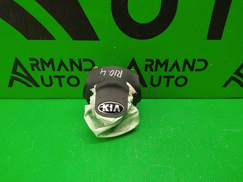 Подушка безопасности ( airbag ) в руль Kia Rio 4 2017 (б/у)