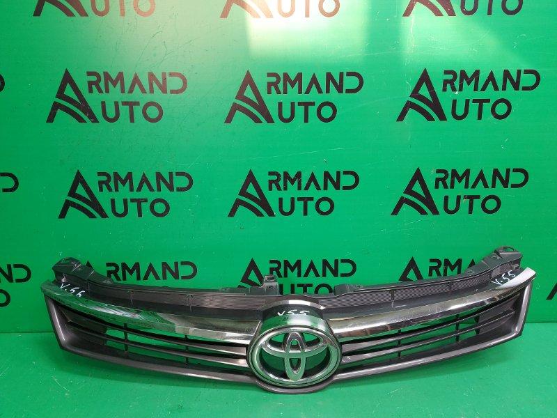 Решетка радиатора Toyota Camry V55 РЕСТАЙЛИНГ 2014 (б/у)