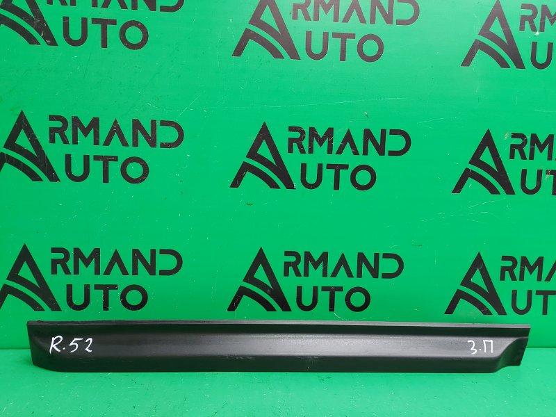 Накладка двери Nissan Pathfinder R52 2014 задняя правая (б/у)