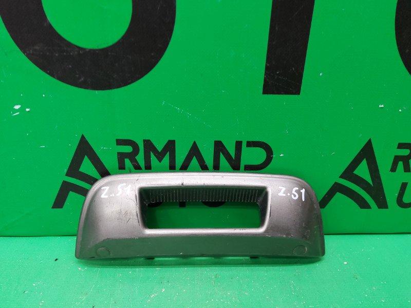 Накладка спойлера Nissan Murano Z51 2007 задняя (б/у)