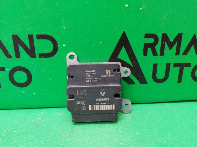 Блок управления airbag Renault Duster 1 2010 (б/у)