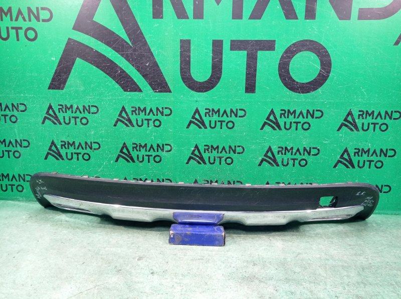Юбка бампера Mercedes Gla-Class X156 2017 задняя (б/у)