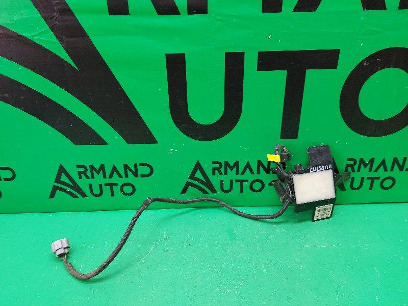 Датчик мертвых зон Hyundai Santa Fe 3 РЕСТАЙЛИНГ 2015 задний левый (б/у)