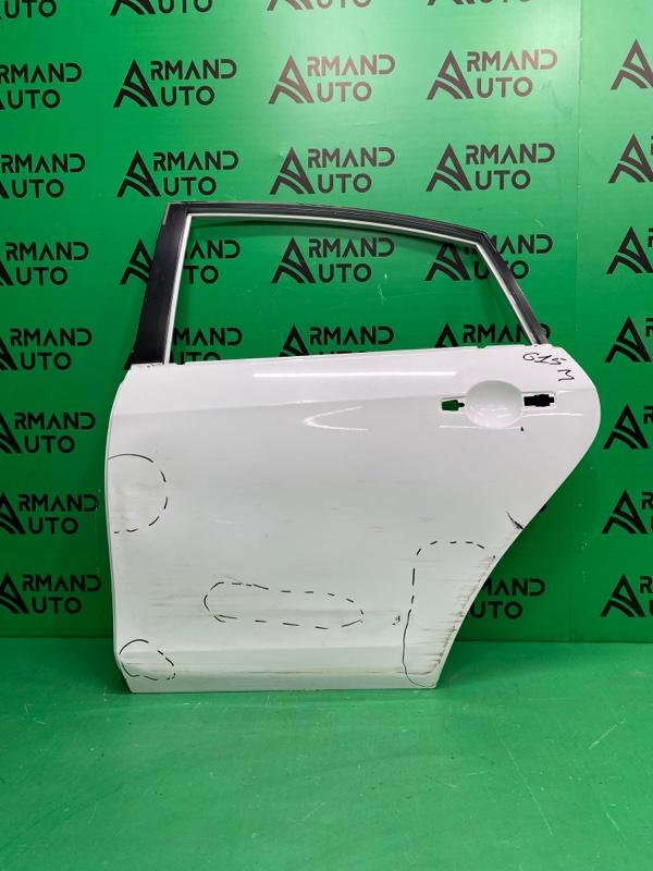 Дверь Nissan Almera G15 2013 задняя левая (б/у)