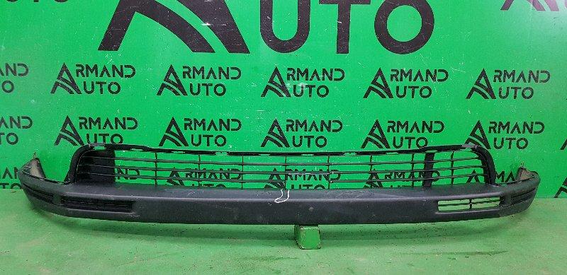 Юбка бампера Toyota Highlander 3 2013 передняя (б/у)
