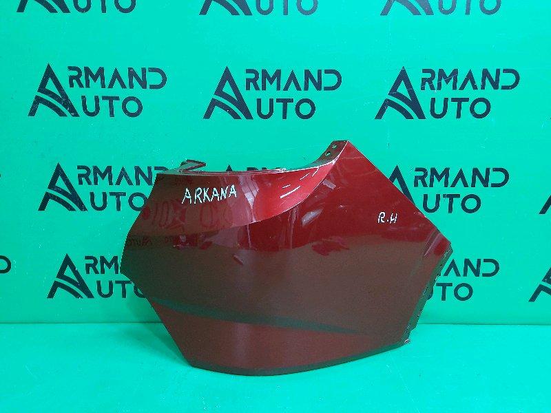 Бампер Renault Arkana 2019 задний правый (б/у)