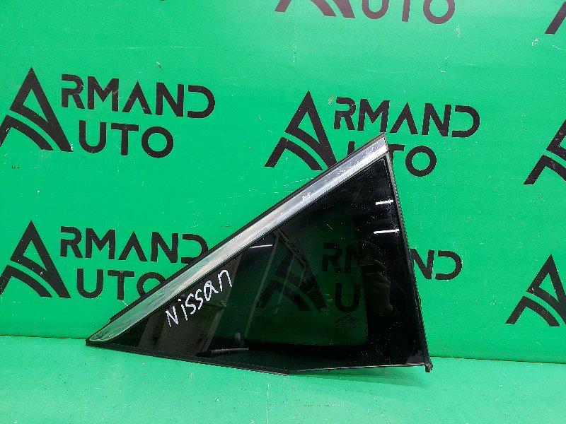 Стекло Nissan Murano Z52 2014 заднее правое (б/у)