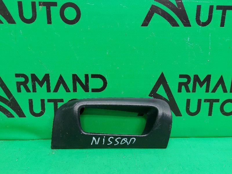 Накладка бампера Nissan Pathfinder R52 2012 задняя (б/у)