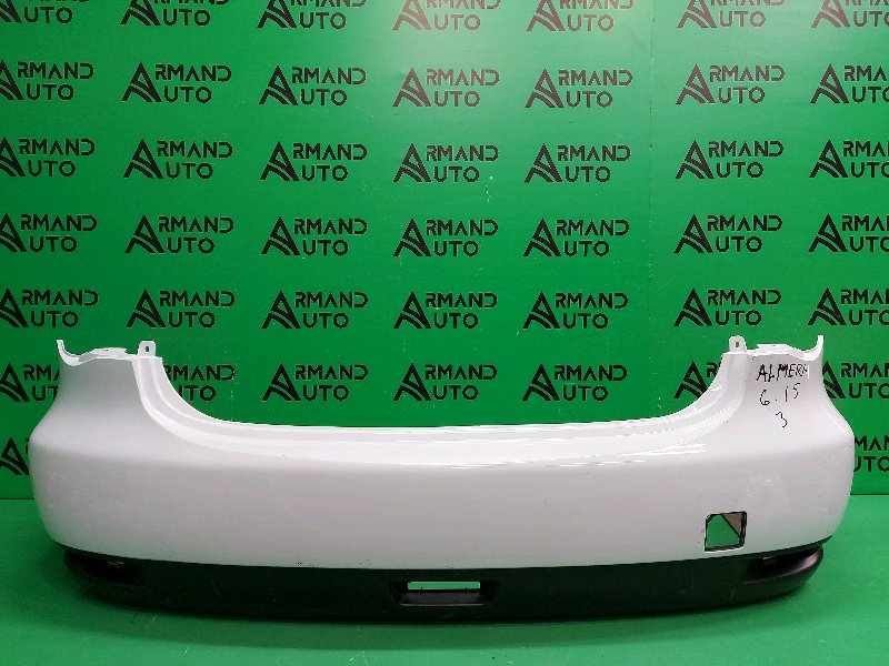 Бампер Nissan Almera G15 2012 задний (б/у)