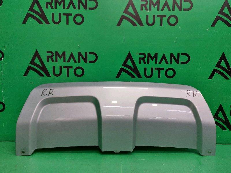 Накладка бампера Land Rover Range Rover Evoque 1 2011 задняя (б/у)