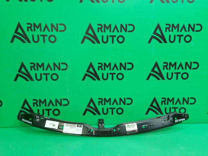 Панель передняя ( телевизор ) Mitsubishi Outlander 2 РЕСТАЙЛИНГ 2009 верхний (б/у)