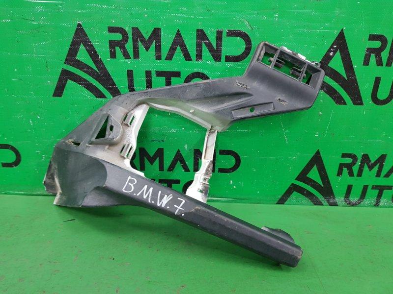 Кронштейн бампера Bmw 7 F01 2008 передний правый (б/у)
