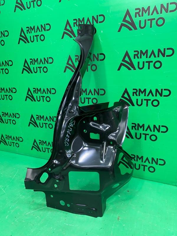 Кронштейн фонаря Renault Sandero 2 2014 правый (б/у)